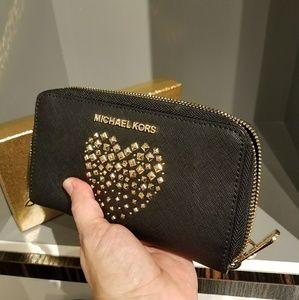 VALENTINES GIFT iPhone wristlet wallet michael MK